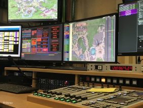 A day in the general control room of Disneyland Paris (🇳🇱/🇬🇧)