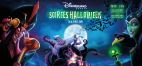 This year's program for the 2 Halloween Parties at Disneyland Paris