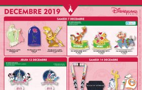 Disneyland Paris Pin Trading December 2019