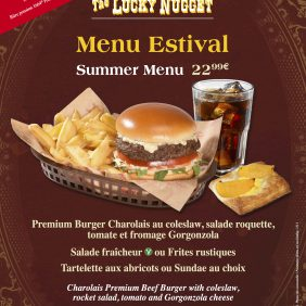 New Sumer Menu at the Lucky Nugget Saloon in Disneyland Park