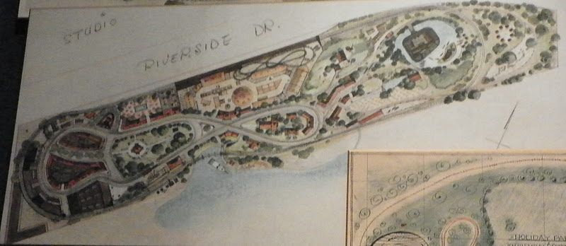 Map of Original idea for Disneyland