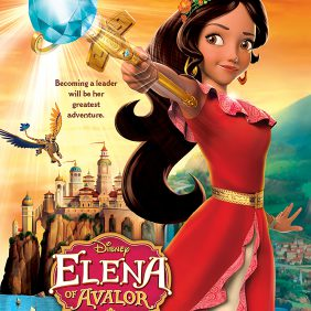 """ELENA OF AVALOR - """"Elena of Avalor"""" is an animated series that follows the story of Elena, a brave and adventurous teenager who saves her kingdom from an evil sorceress and must now learn to rule as crown princess until she is old enough to be queen. The series premieres this summer on Disney Channel. (Disney Channel)"""